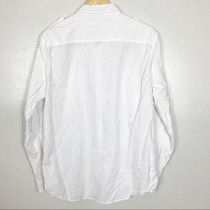 Calvin Klein Shirts - Calvin Klein Button-Down - White